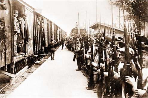 Донбасс в конце 1918 начале 1919 годов