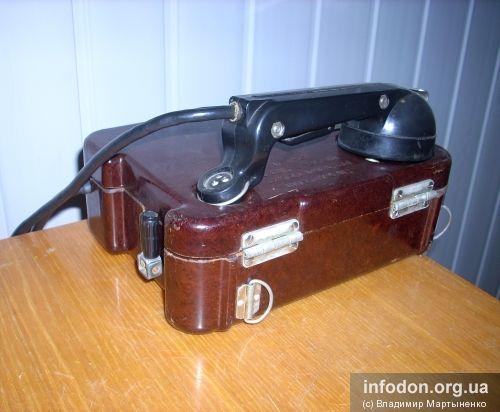 Переносной полевой телефонный аппарат ТА-57
