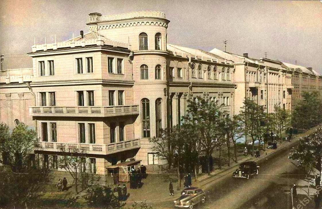Дом техники Министерства угольной промышленности. Сталино (Донецк), 1956 год. Фото Л. Азриеля