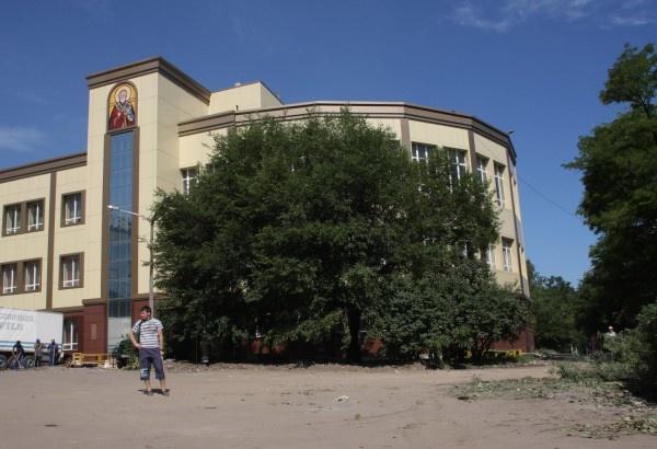 Реконструкция ДК. 2011 год