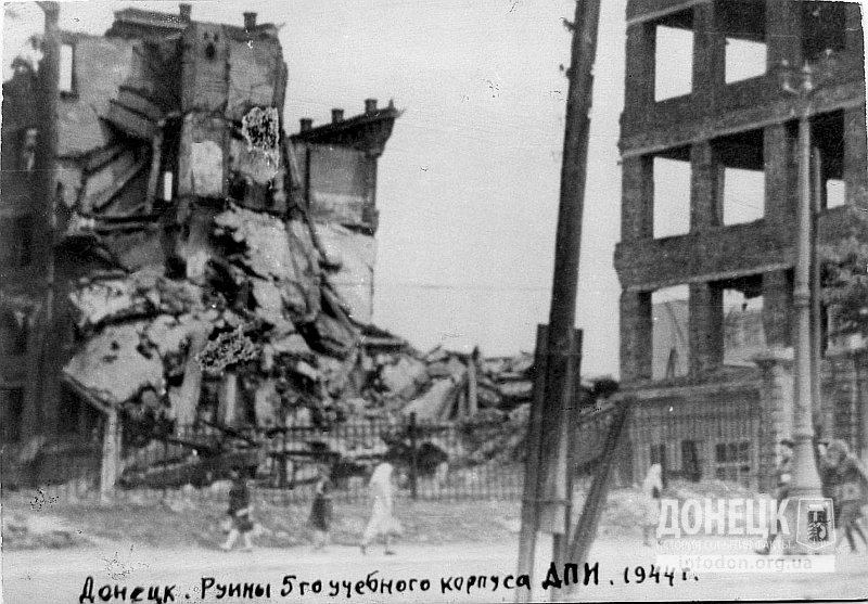 Руины 2-го корпуса