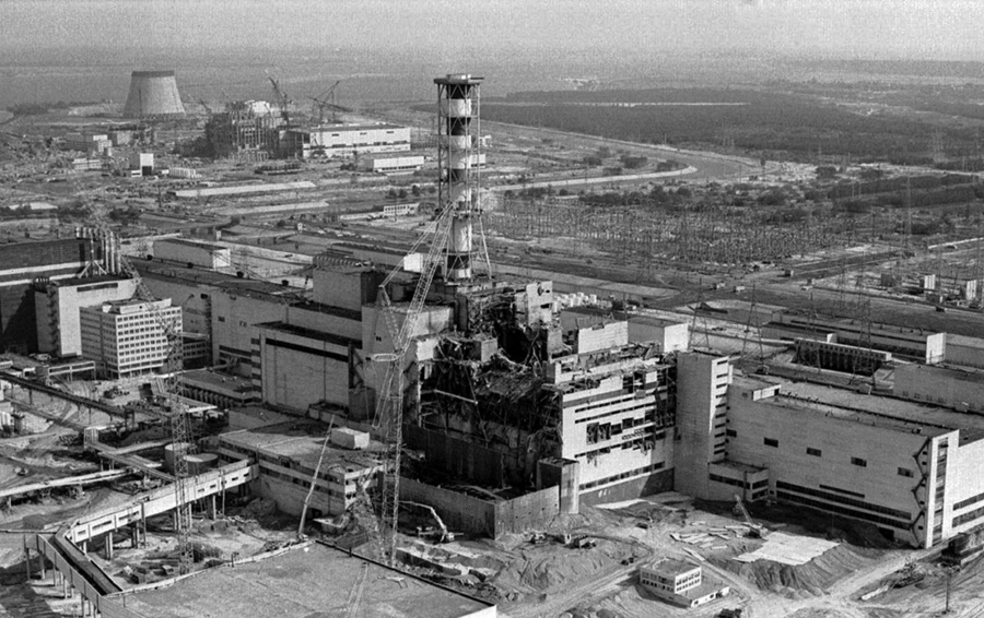 26 апреля - 30 лет со дня аварии на Чернобыльской АЭС