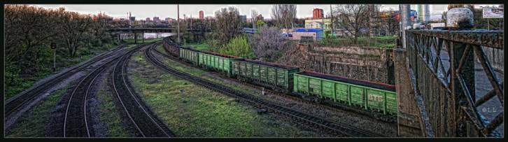 Донецк.Паровозики