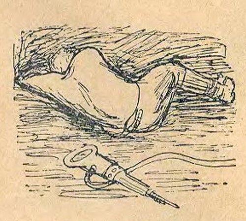 Он часто спал в уступе: норму давно выполнил, а рабочий день еще впереди. Еще рубать уголь нет охоты. Вот и спит отличный забойщик Митя Концедалов