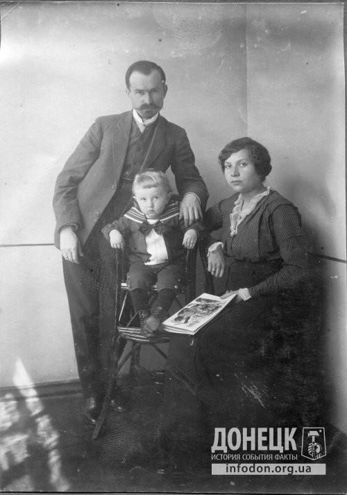 семья П.В. Обухова