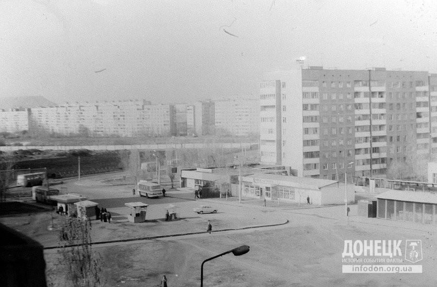 Улица Щетинина и автостанция. Начало 1980-х. Фото: Евгений Киселев