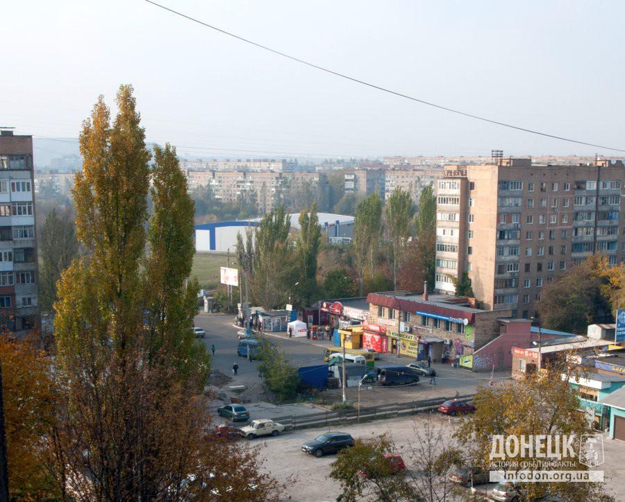 Улица Щетинина и автостанция. 2012 год. Фото: Андрей Достлев