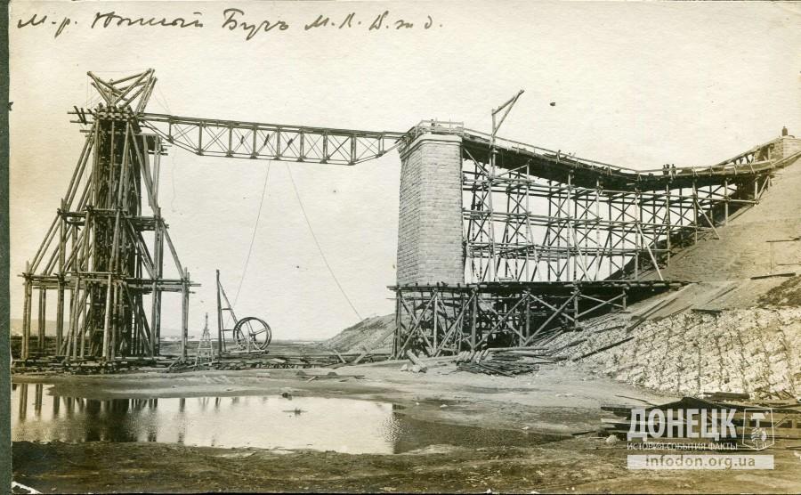 Мост через реку Южный Буг. Строительство