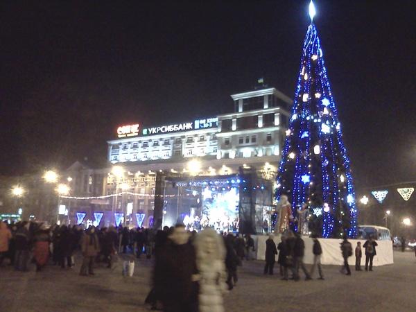 Донецкая ёлка-2011. Фото Роман Ленчицкий