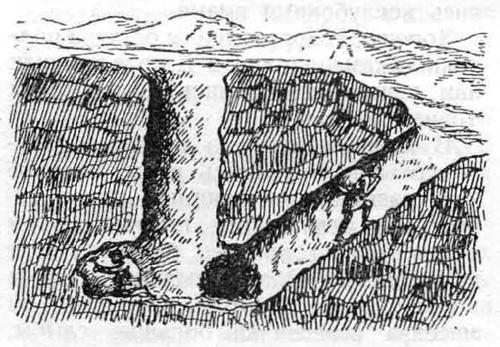 Шахта доисторического периода