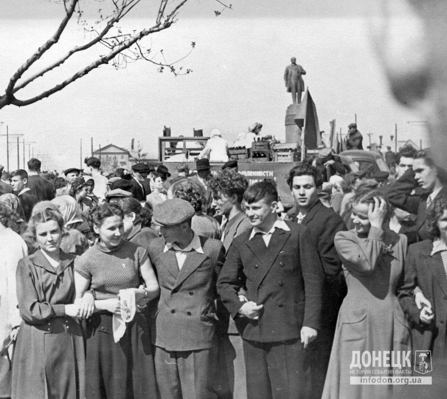 Шевченко.1956.1 мая