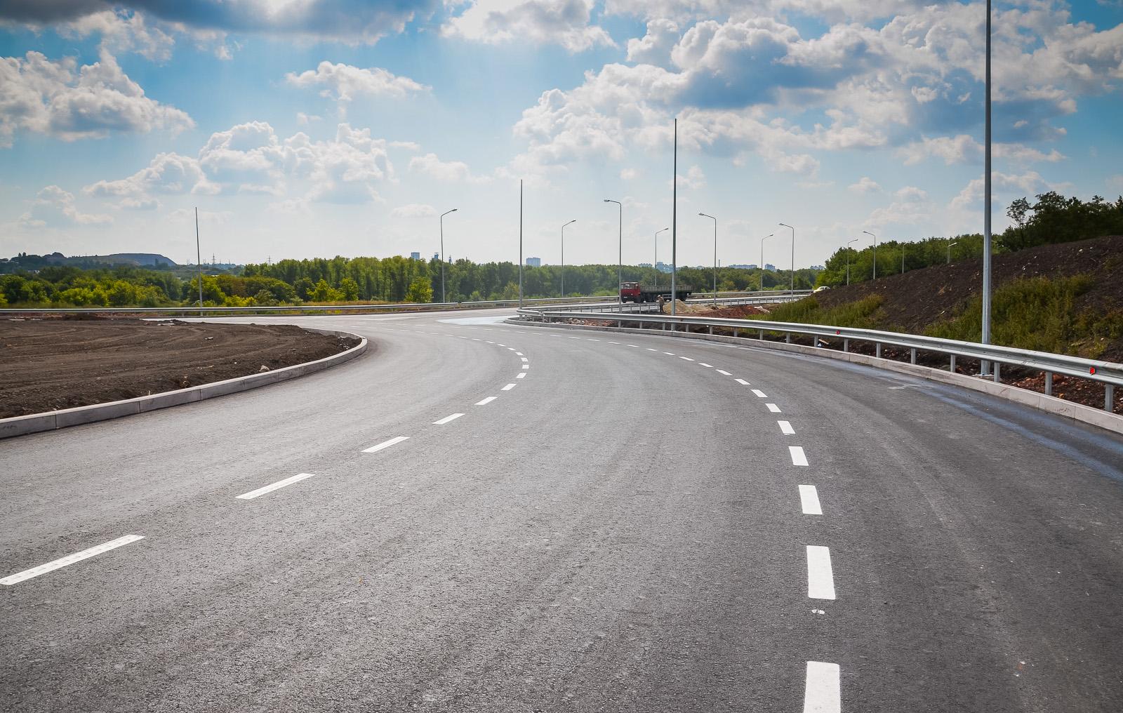 схема новой дороги от павла поповича к трассе