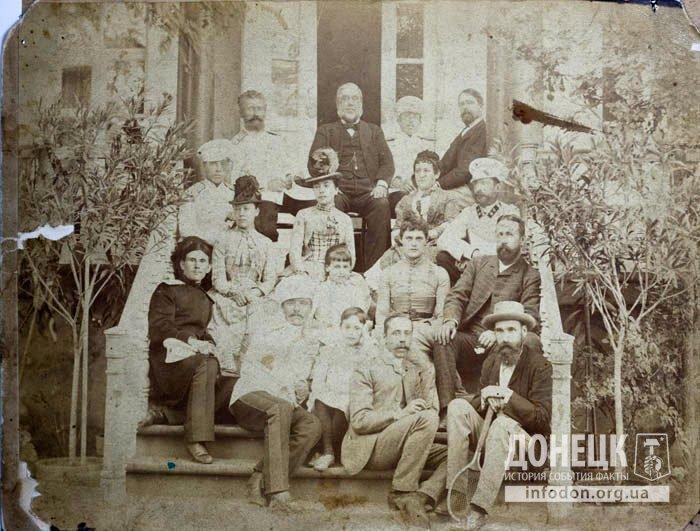 семья Юзов 1880-e