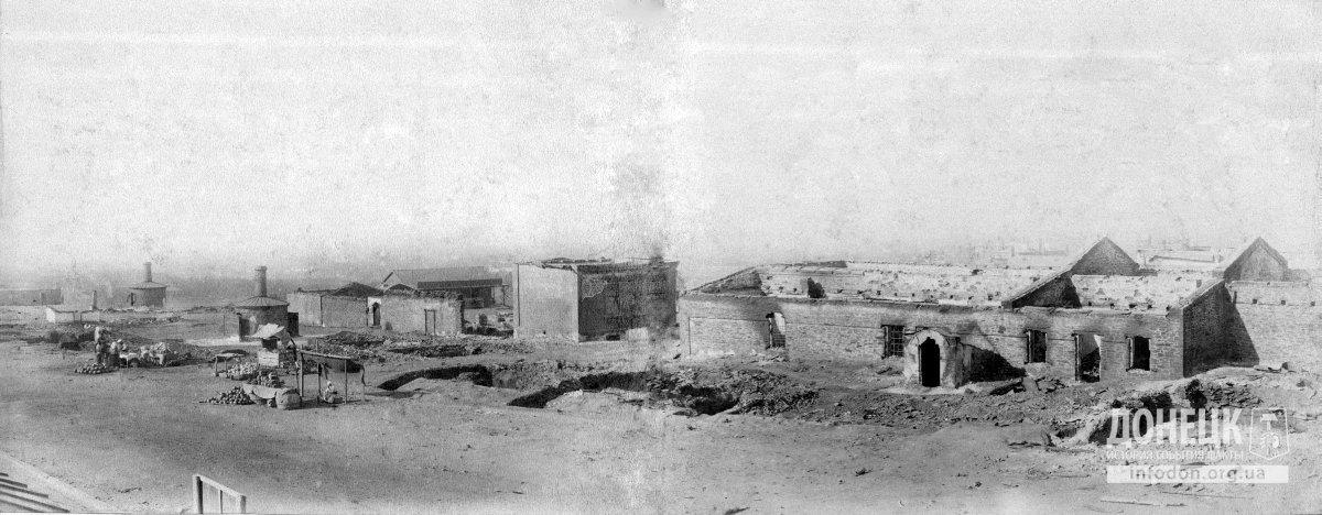 0 первый юз-ий базар Новый Свет после холерного бунта 1892г.