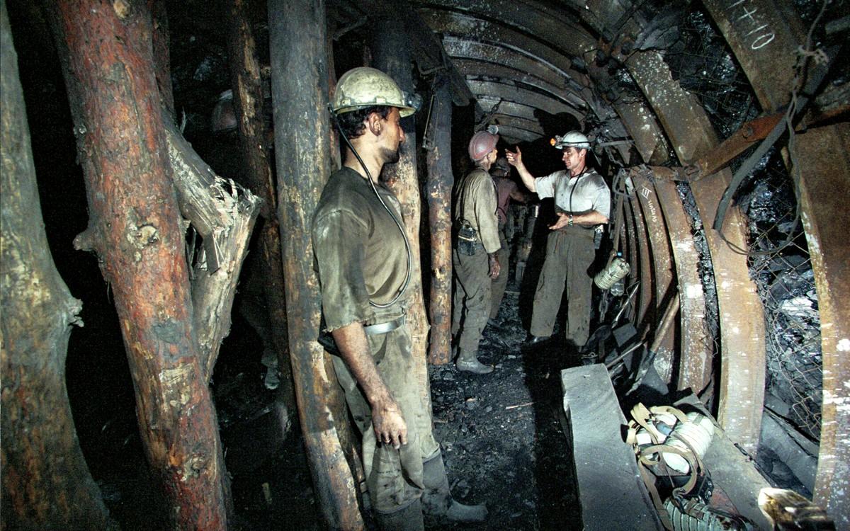 В шахте Краснолиманская