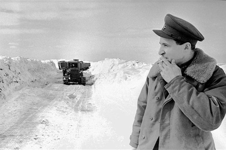 №6Константин Симонов на пути к Западной Лице. Карельский фронт, Мурманское направление, 1942