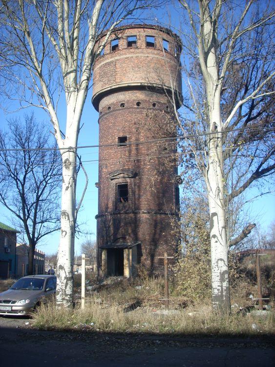 Водонапорная башня на Путиловке