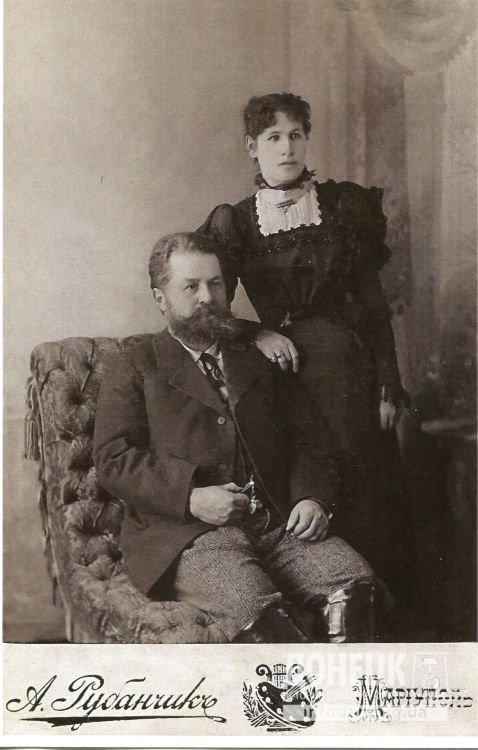 туткевич мих. як. с женой Татьяной Константиновной