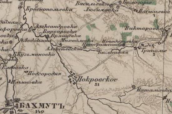 Карта 1914г. дер._Беленькая, которой когда-то владели Родзянко.
