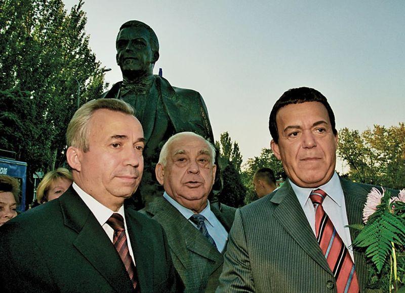 Лукьянченко, Звягильский и Кобзон