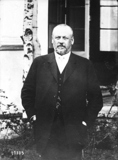 Михаил Владимирович Родзянко в 1914 году