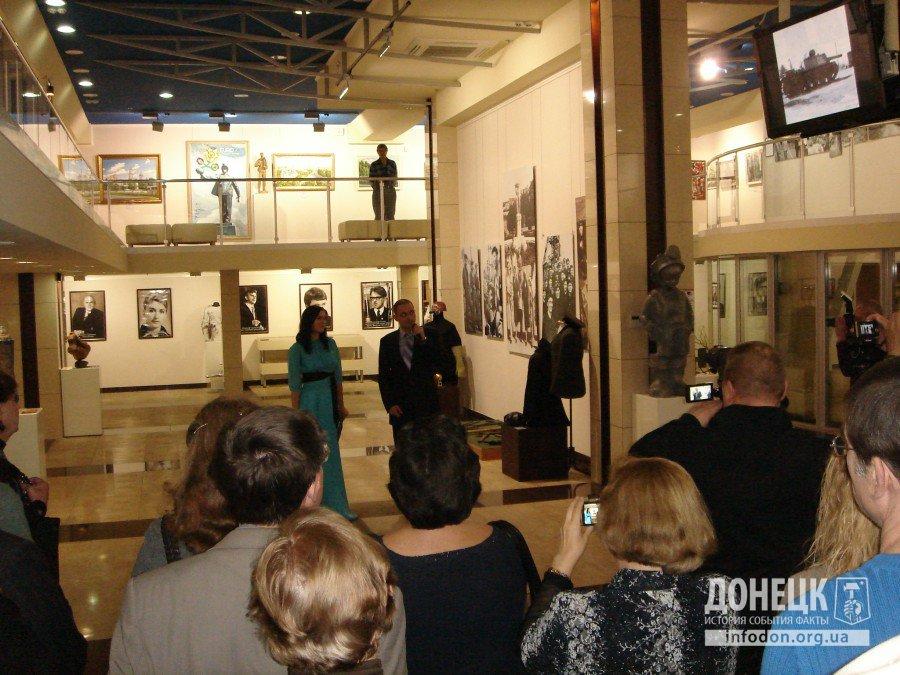 Приветствие нового директора музея - Д.А. Кузнецова