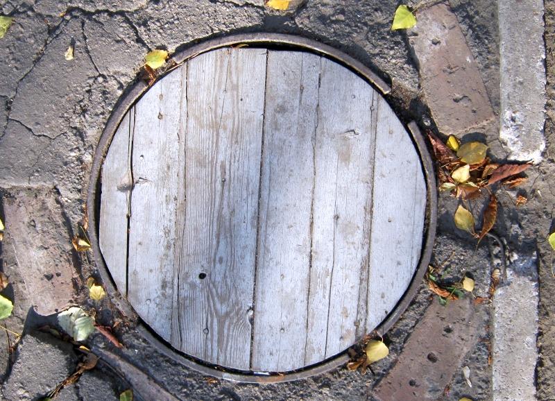 Фото 01 Современный деревянный люк