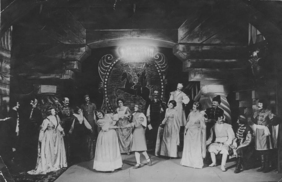 спектакль 1937год песня про свечку-