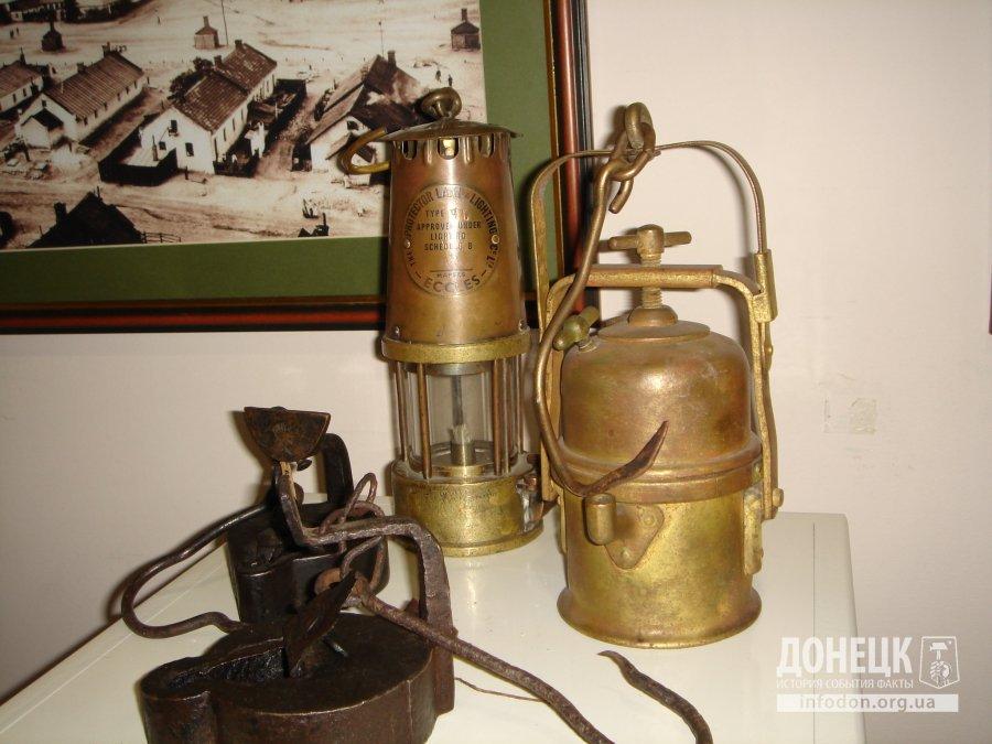 шахтерские лампы различных систем