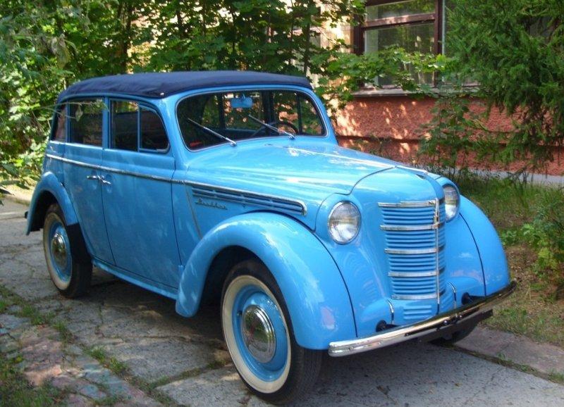 Фото 4 Автомобиль Москвич- 400 _ 420А кабриолет