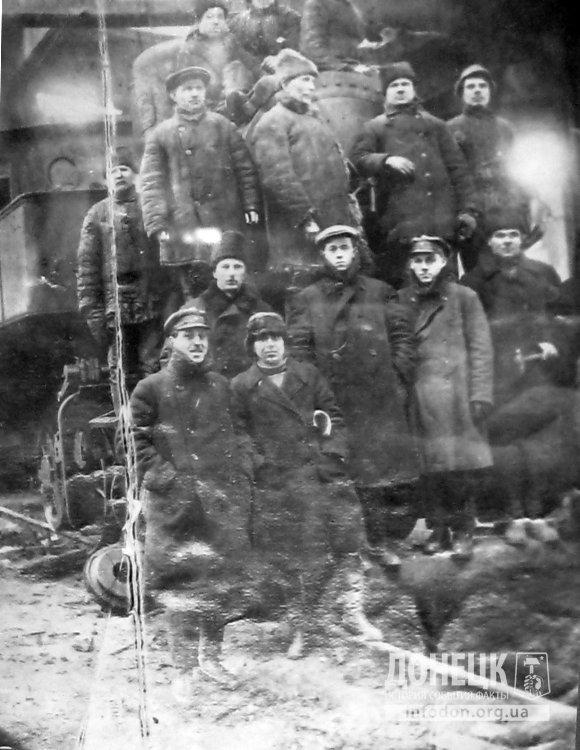 Ремонтная бригада поездов