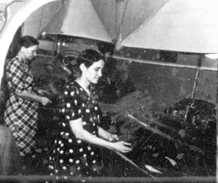 Фото 7 Пошивочный цех фабрики в 1960 году Фото 3