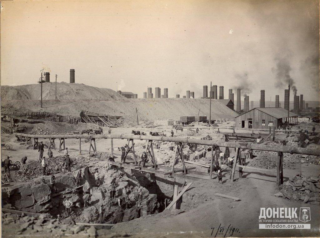 01   07_06_1911 Строительство новомартеновского цеха