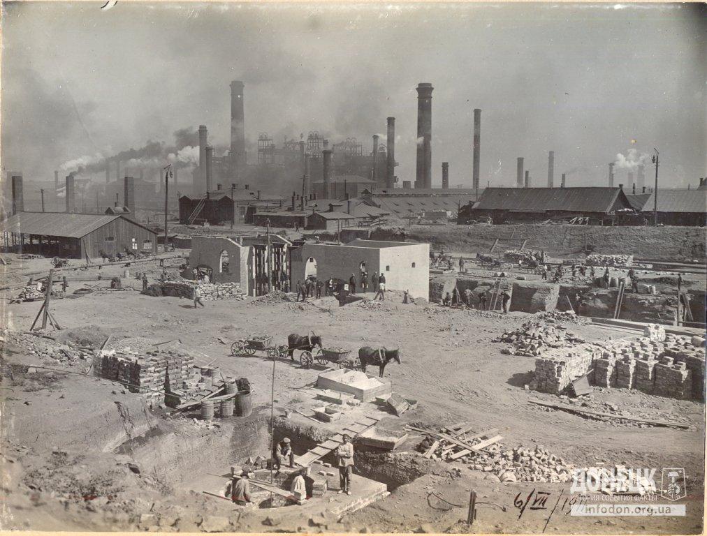 02   06_07_1911 Строительство новомартеновского цеха