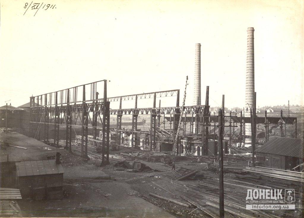 05   08_11_1911 Строительство новомартеновского цеха