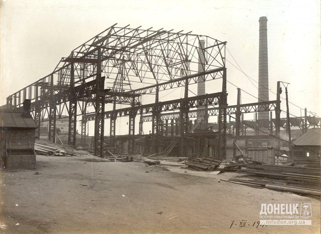 06   07_12_1911 Строительство новомартеновского цеха
