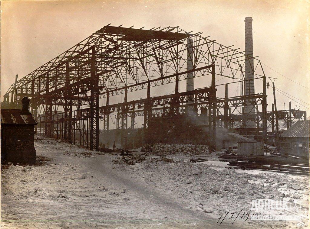 07   07_01_1912 Строительство новомартеновского цеха