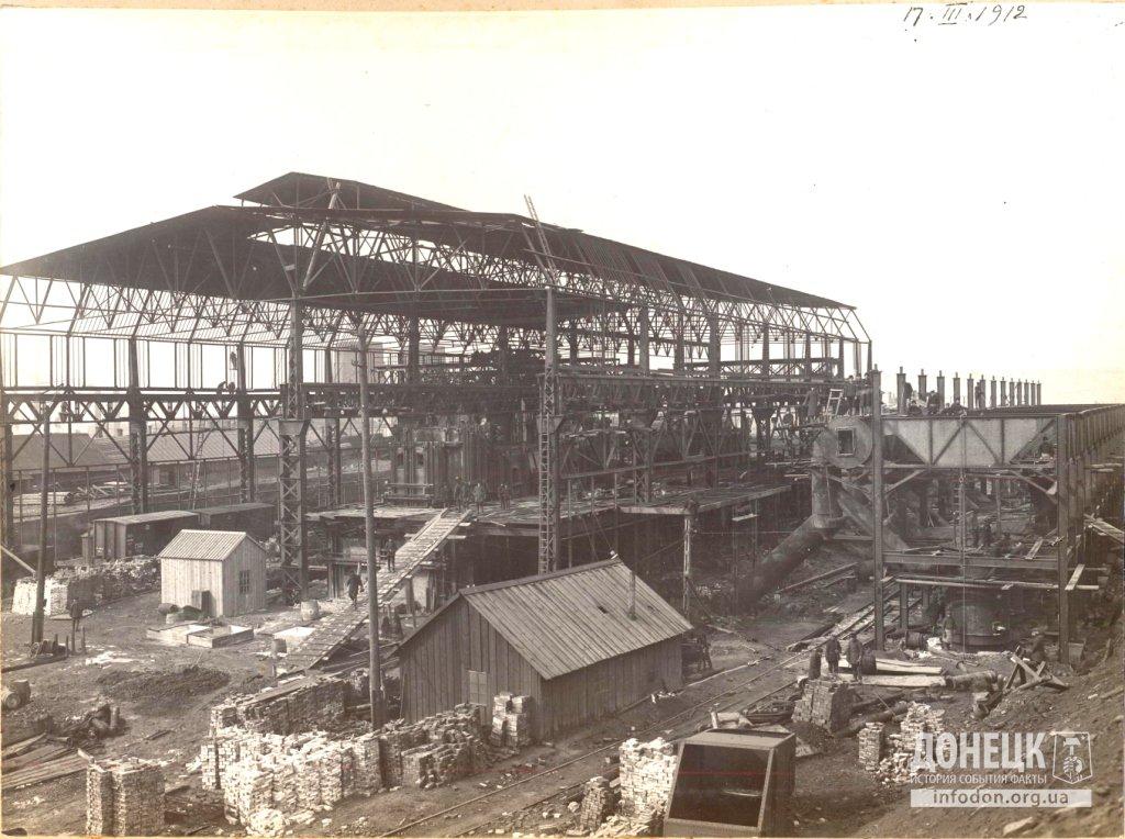 10   17_03_1912 Строительство новомартеновского цеха