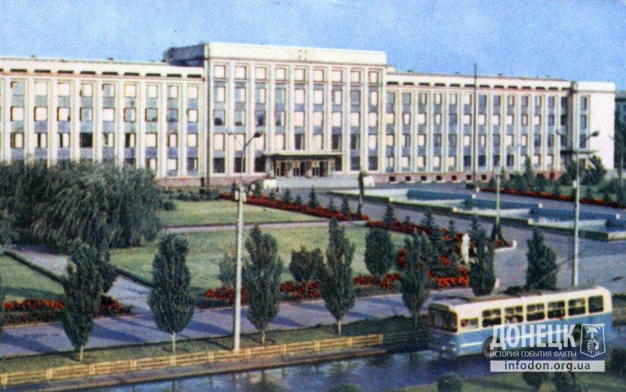 Дом городского Совета депутатов трудящихся. Фото В. Чупрынина