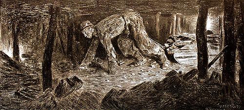 «Шахтер-тягольщик» 1896 г.