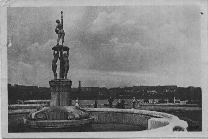 Фонтан в парке им. Щербакова, 1938 год