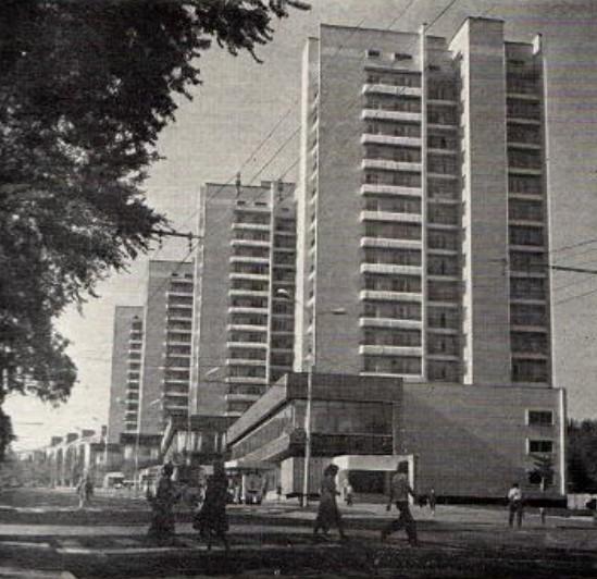 Новый жилой комплекс, построенный на водоразделе уп. Артема, обогатил силуэт города
