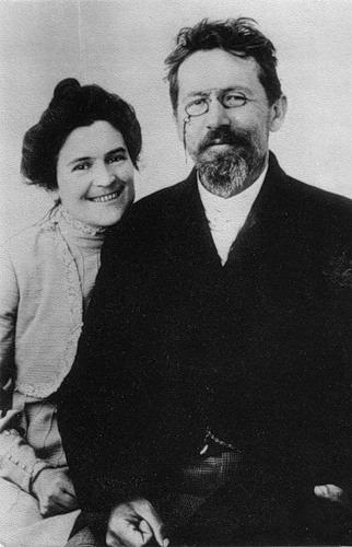 А.П. Чехов и О.Л. Книппер-Чехова