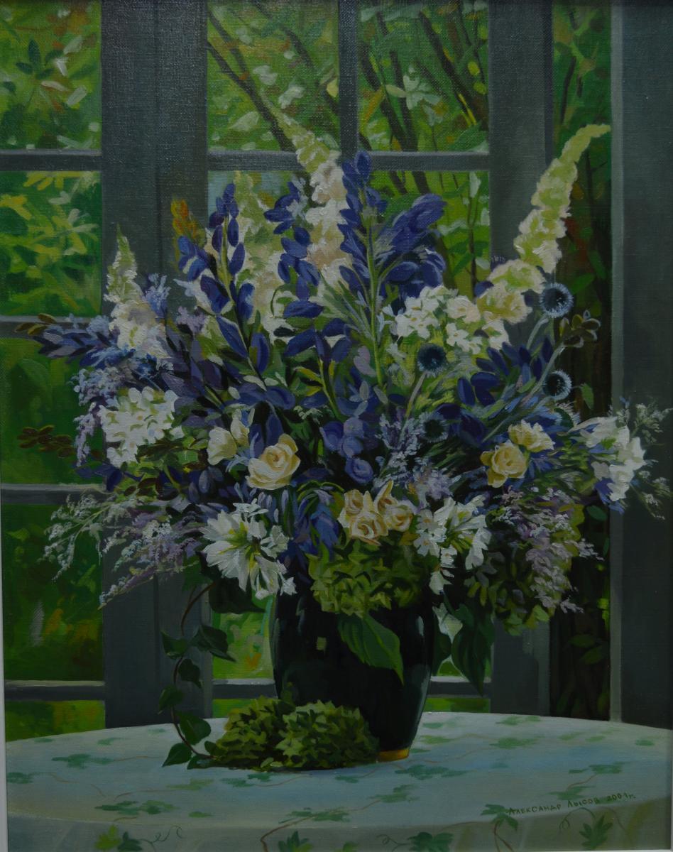 5. «Цветы на веранде» – Александр Лысов