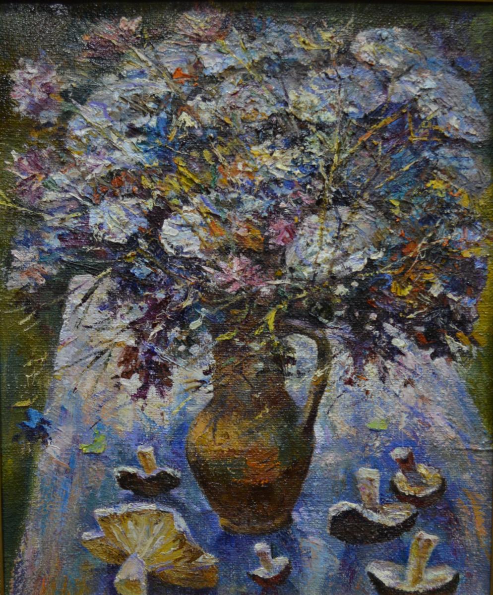 9. «Полевые цветы» – народный художник Украины Григорий Тышкевич