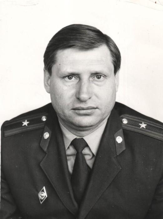 майор Дегтерев