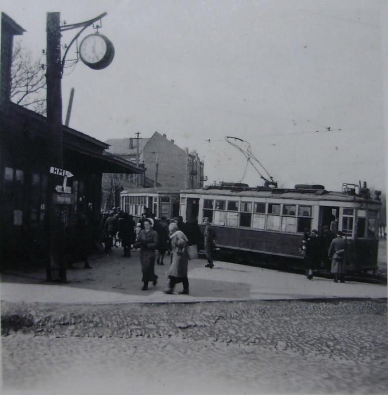 Трамвай №6 в Сталино. 1941-43 гг.