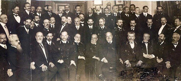 Совет Съезда горнопромышленников юга России, 1913 год