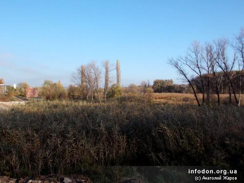 Вид поселка Ивановка