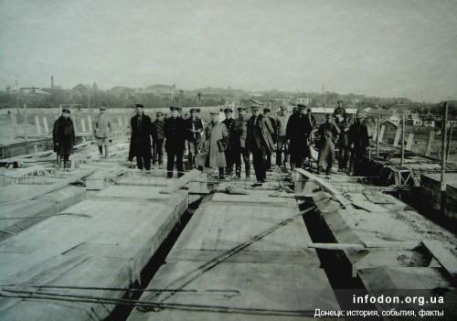 1. Строительство моста в Сталино (Донецке)